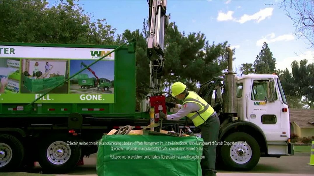 Waste Management Bagster Bag TV Commercial Ad 2020, Whenever Youre Ready