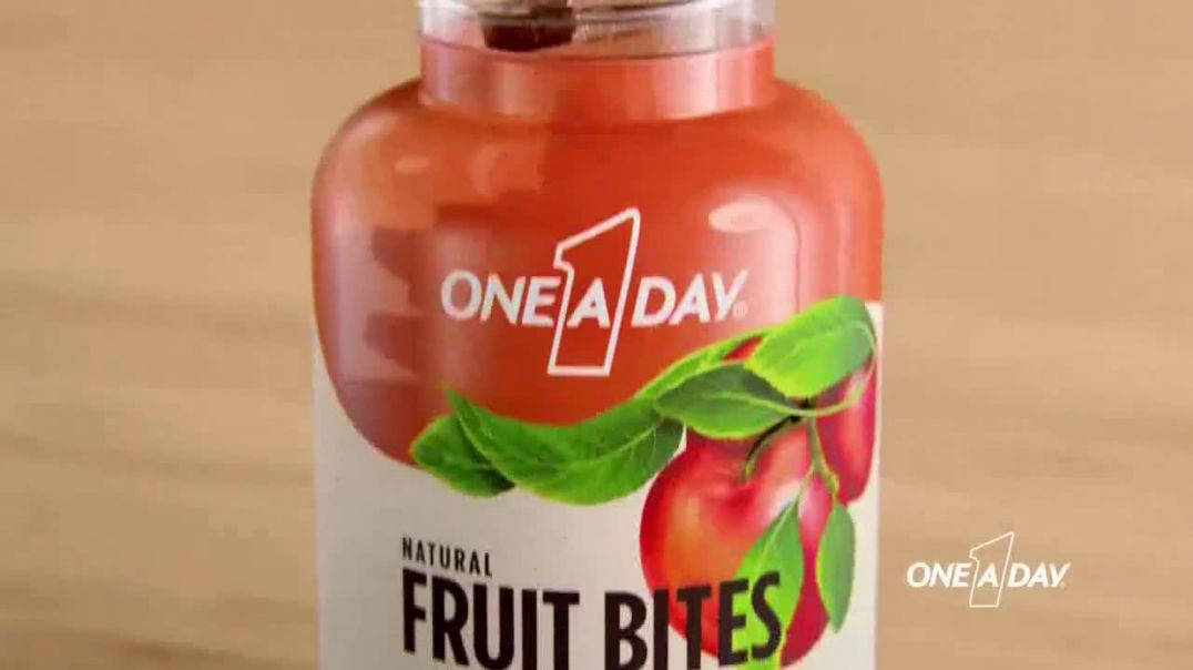 One A Day Natural Fruit Bites Multivitamin TV Commercial Ad 2020, A New Way to Multivitamin
