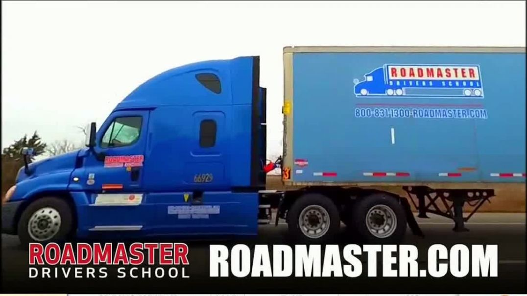 Roadmaster Driving School TV Commercial Ad 2020, Truck Drivers are Heroes
