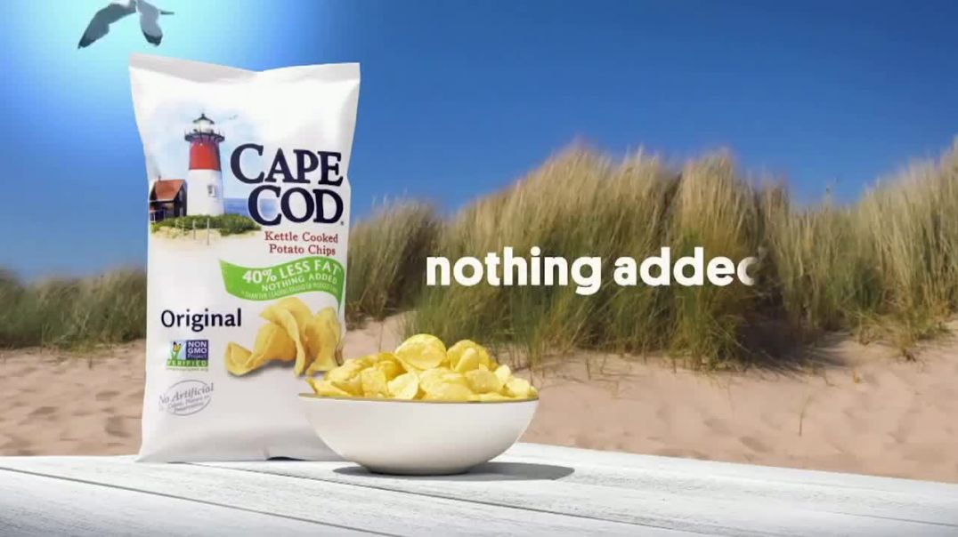 Cape Cod Chips TV Commercial Ad 2020, Nothing Added