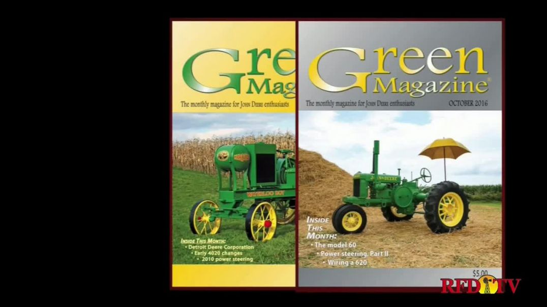 Green Magazine TV Commercial Ad 2020, Classic Tractor Fever