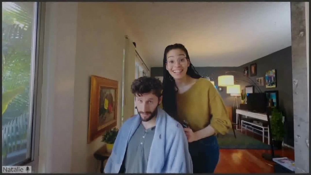 AT&T Fiber TV Commercial Ad 2020, Working From Home- More Bandwidth- Haircut Tutorial