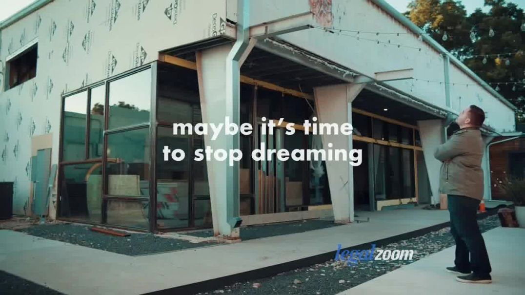 LegalZoomcom TV Commercial Ad 2020, Time to Stop Dreaming