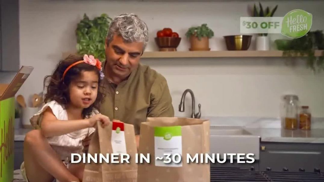 HelloFresh TV Commercial Ad 2020, Monica, Matt and Olive- $30 Off