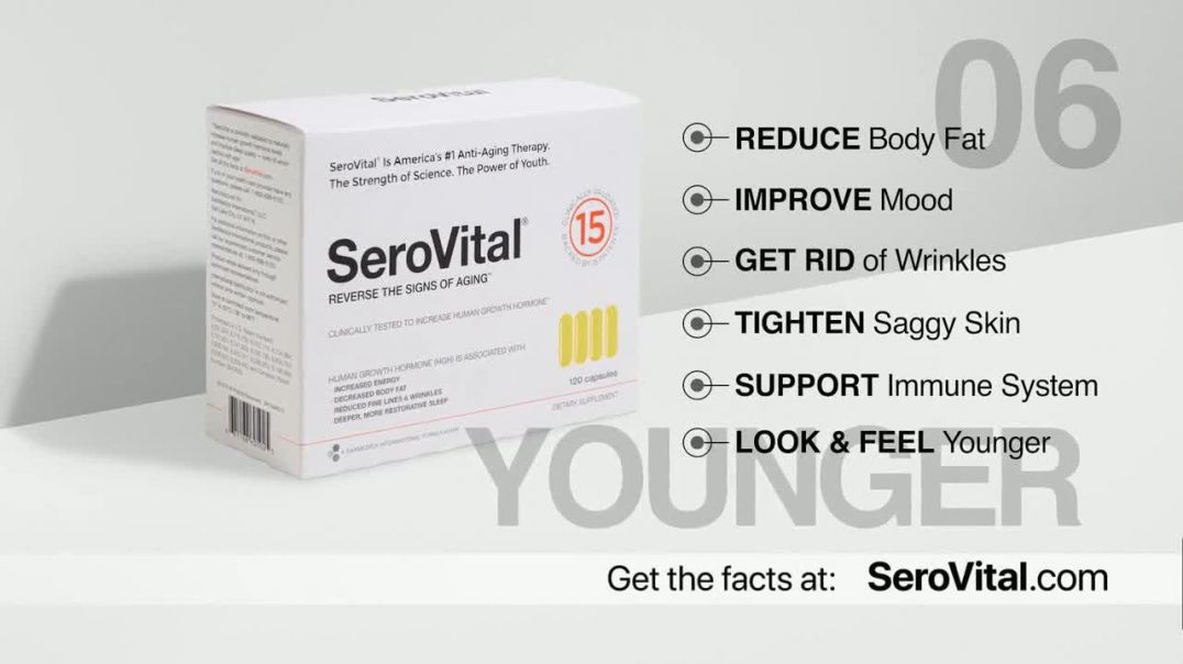 SeroVital TV Commercial Ad 2020, Look Decades Younger- Immune System Featuring Kym Douglas