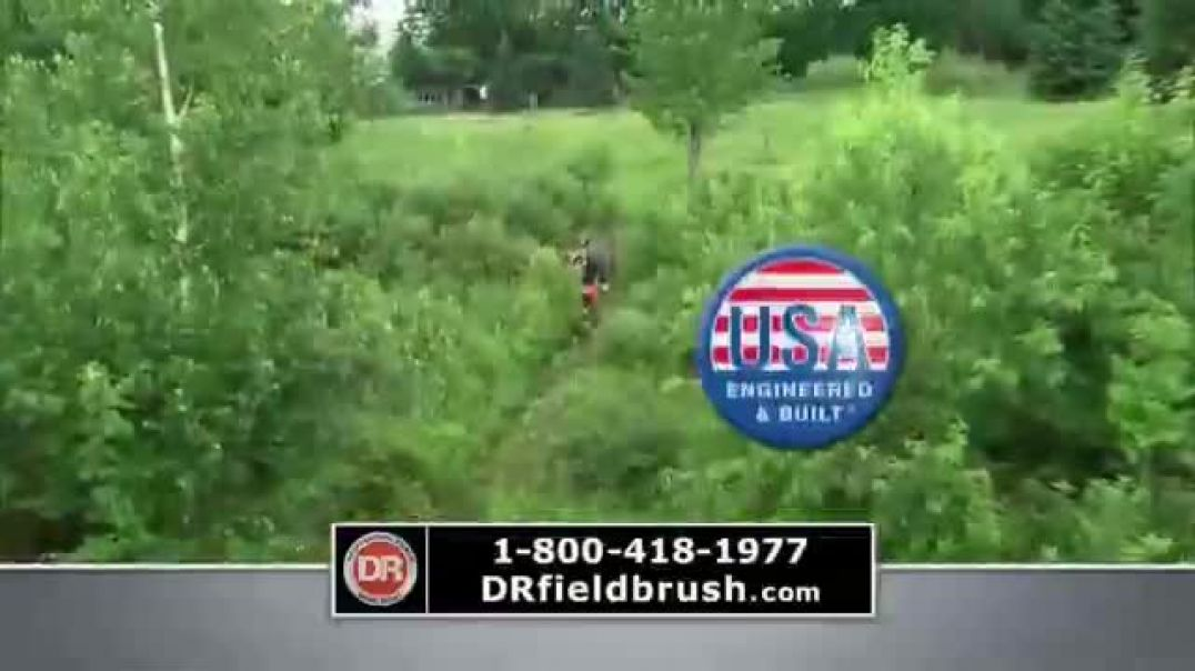 DR Power Equipment Field and Brush Mower TV Commercial Ad 2020, New Challenge