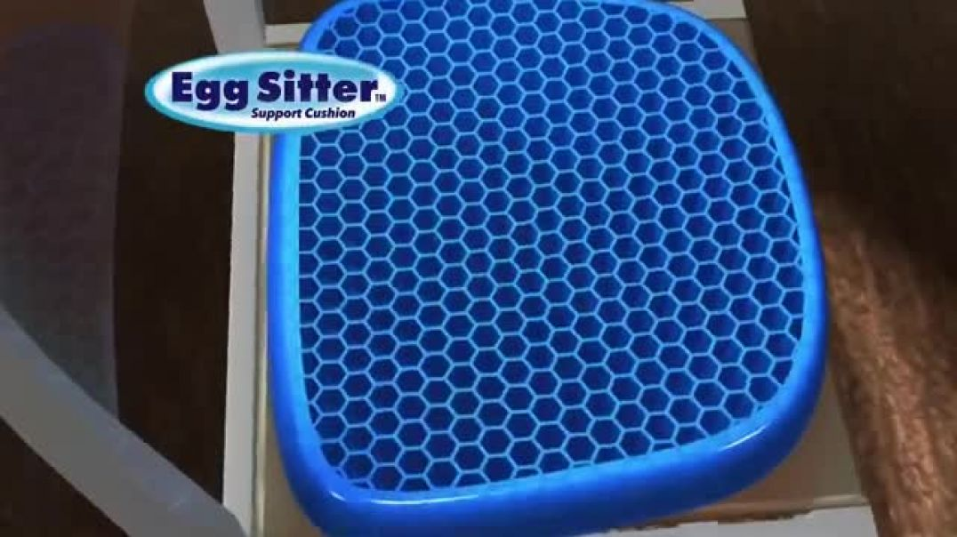 Egg Sitter TV Commercial Ad 2020, Supports Your Back  Free Hand Sanitizer