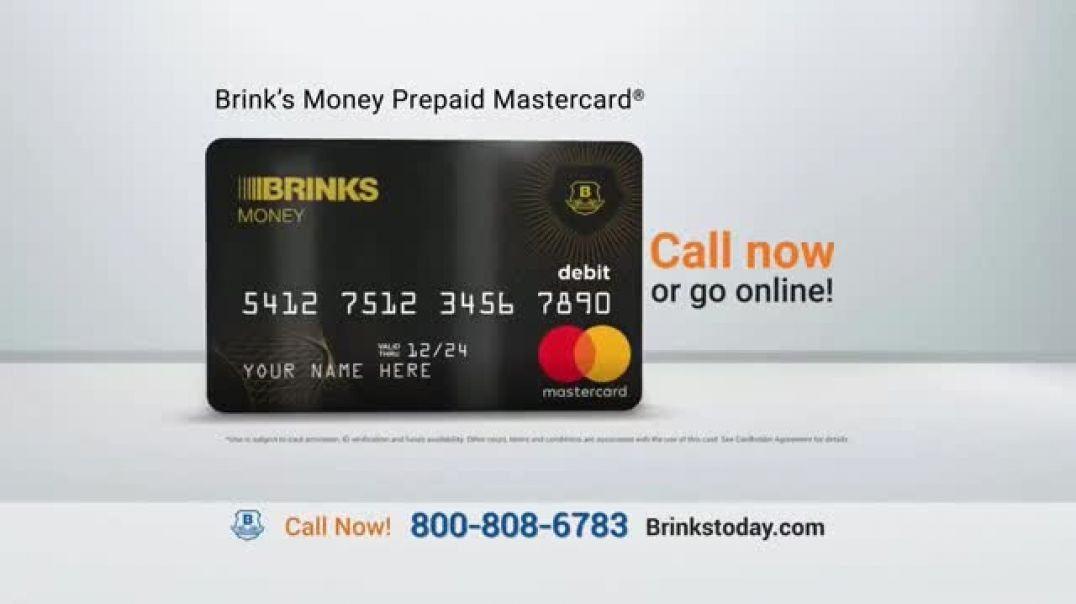 Brinks Prepaid MasterCard TV Commercial Ad 2020, Confidence