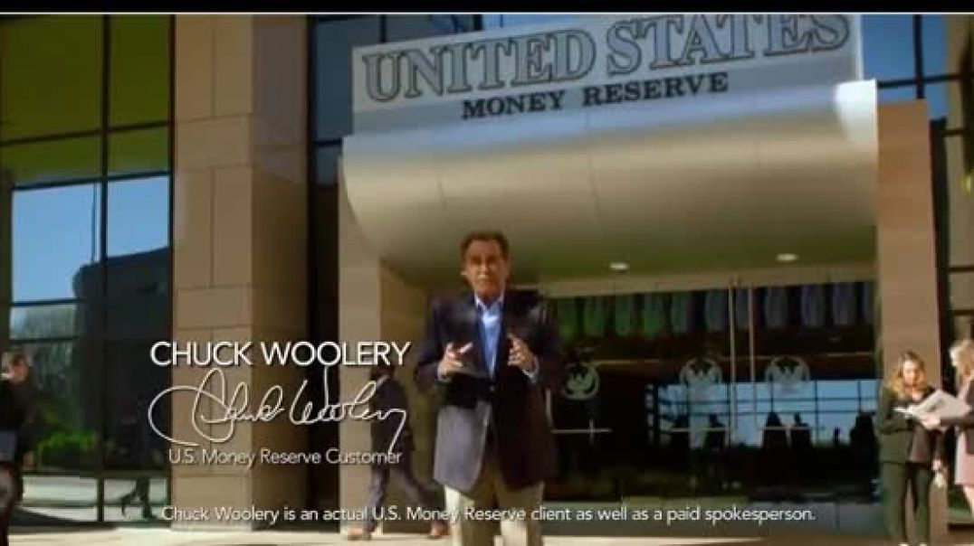 US Money Reserve TV Commercial Ad 2020, The Next Gold Rush  $189 Featuring Chuck Woolery