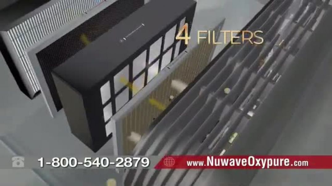 NuWave OxyPure Air Purifier TV Commercial Ad 2020, Airborne Viruses