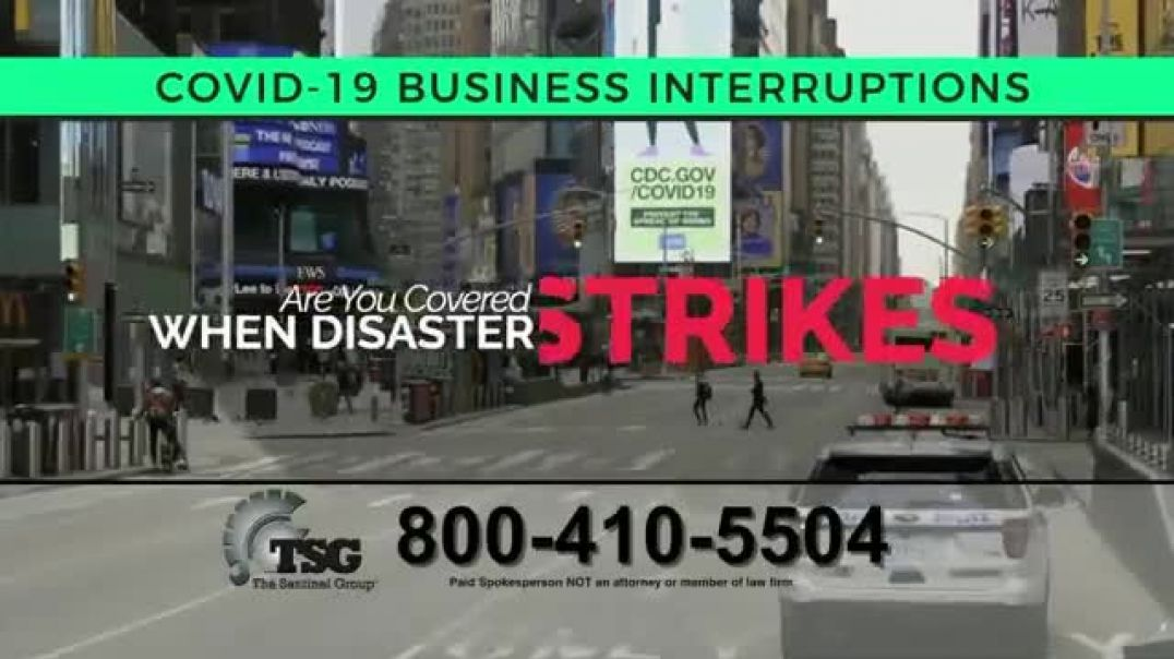 The Sentinel Group TV Commercial Ad 2020, Business Interruption