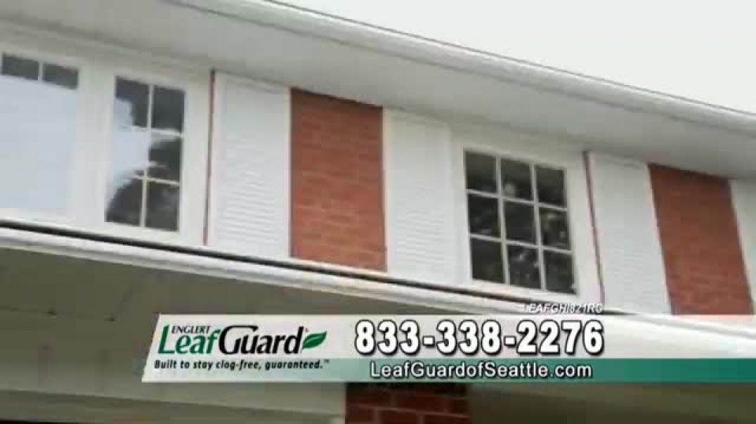 LeafGuard of Seattle $99 Install Sale TV Commercial Ad 2020, Doctors Advice