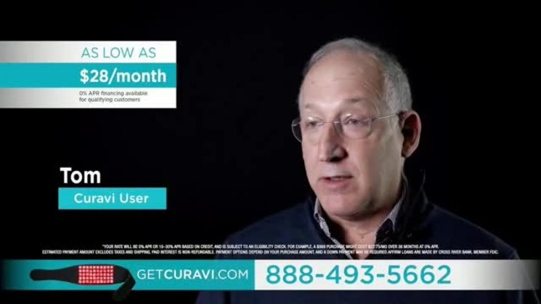 Curavi TV Commercial Ad 2020, Back Pain  $200 Off