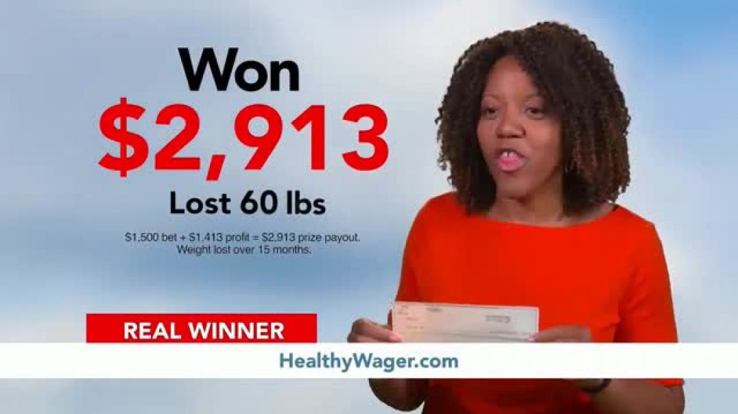 HealthyWage TV Commercial Ad 2020, Average Winners  Calculator