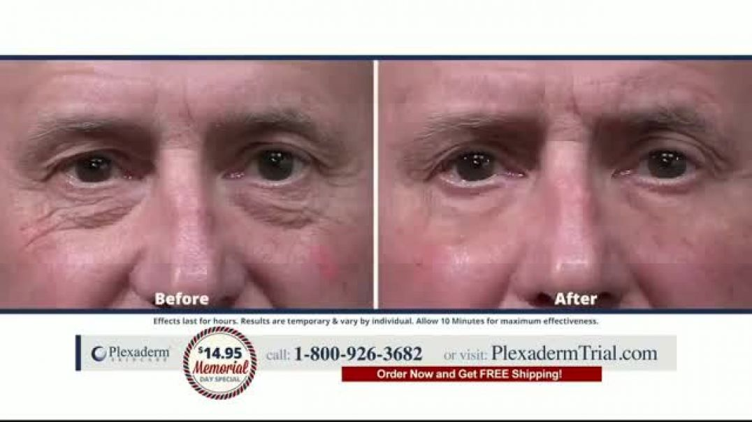 Plexaderm Skincare Memorial Day Special TV Commercial Ad 2020, Feel and Look Your Best