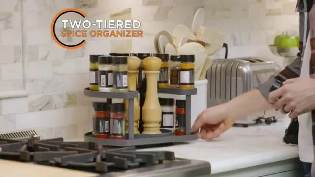 Spice Spinner TV Commercial Ad 2020, Organized