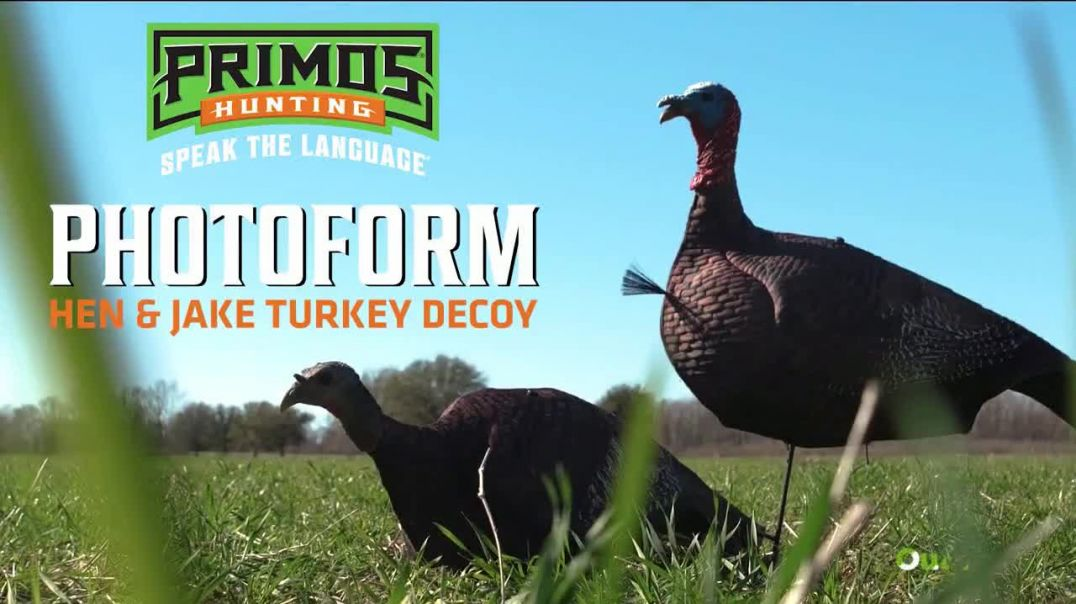 Primos Photoform Turkey Decoy TV Commercial Ad 2020, Hen and Jake