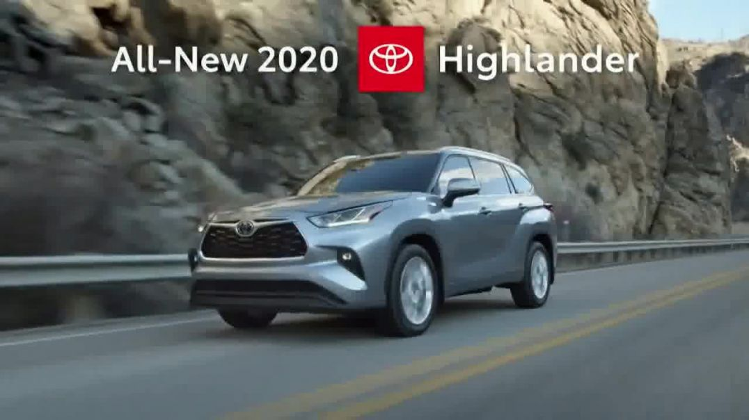 2020 Toyota Highlander TV Commercial Ad 2020, Aggressively Styled