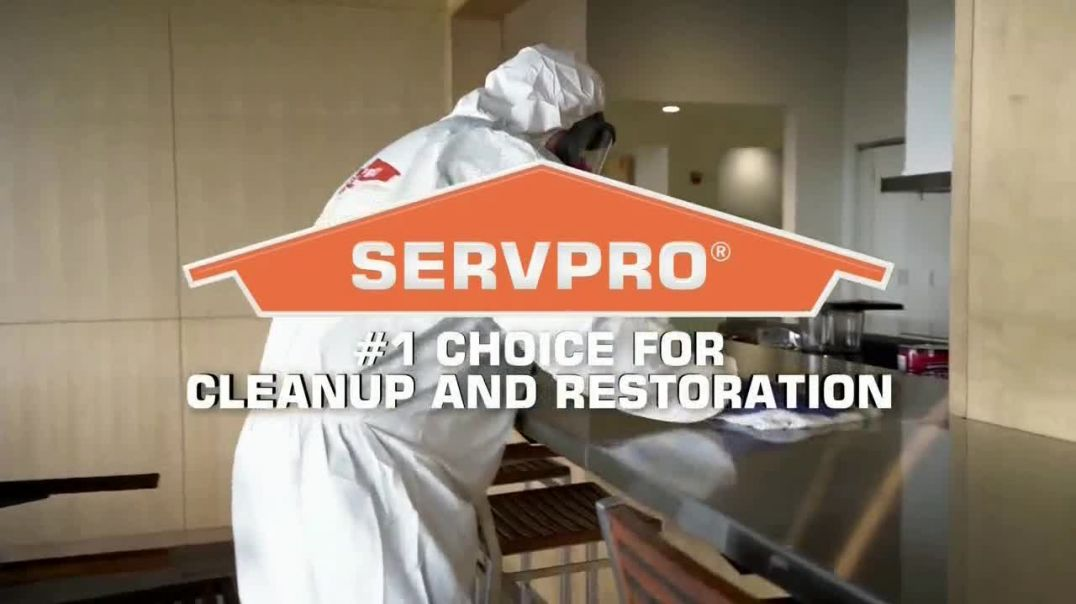 SERVPRO TV Commercial Ad 2020, Getting Back to Business