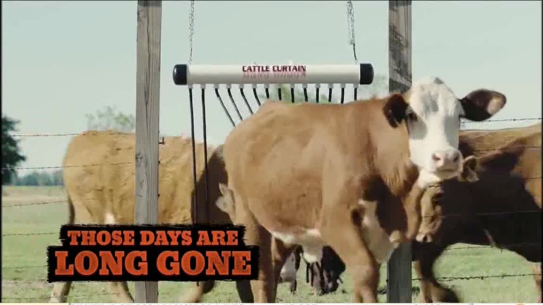 Cattle Curtain TV Commercial Ad 2020, Long Gone