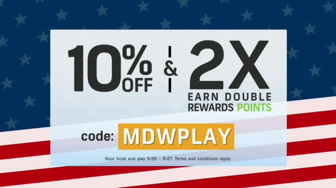 GolfNowcom TV Commercial Ad 2020, Special Offer- Double Rewards