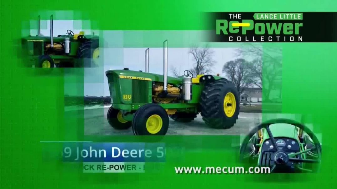 Mecum Gone Farmin 2020 Spring Classic TV Commercial Ad 2020, The Lance Little RePower Collection