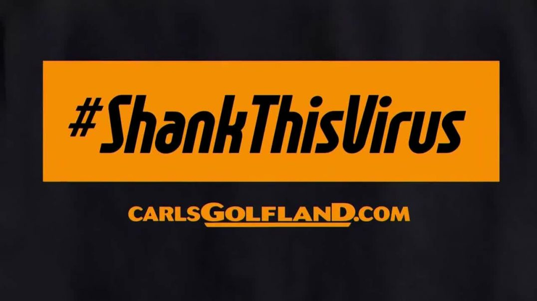 Carls Golfland TV Commercial Ad 2020, Shank This Virus T-Shirt- COVID-19 Relief