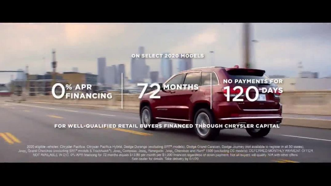 Fiat Chrysler Automobiles Memorial Day Sales Event TV Commercial Ad 2020, Shifting to Drive Song by