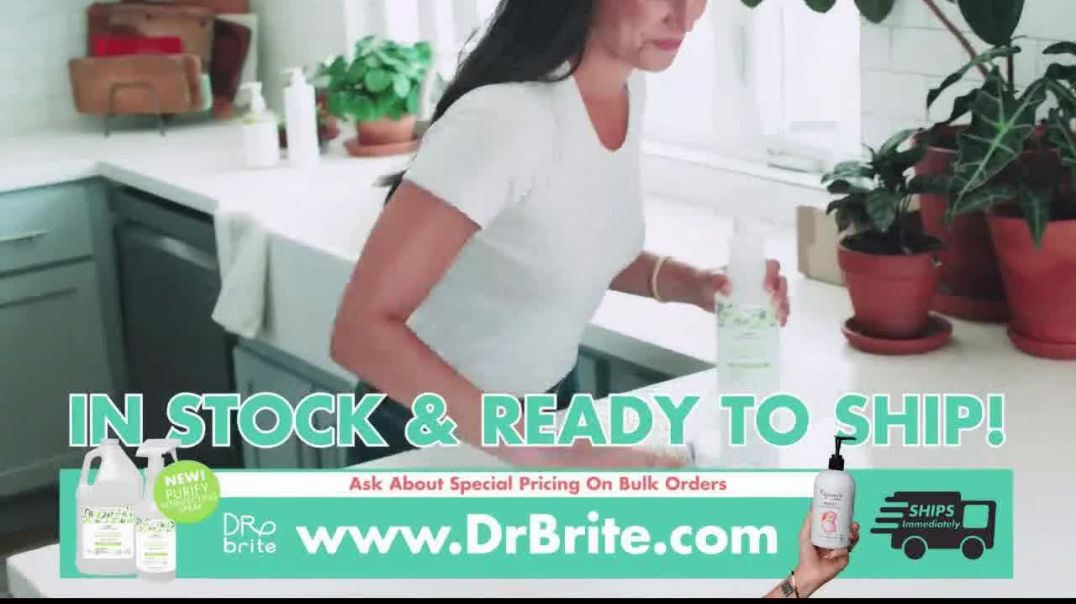 Dr Brite Naturals Hand Sanitizer TV Commercial Ad 2020, Essential