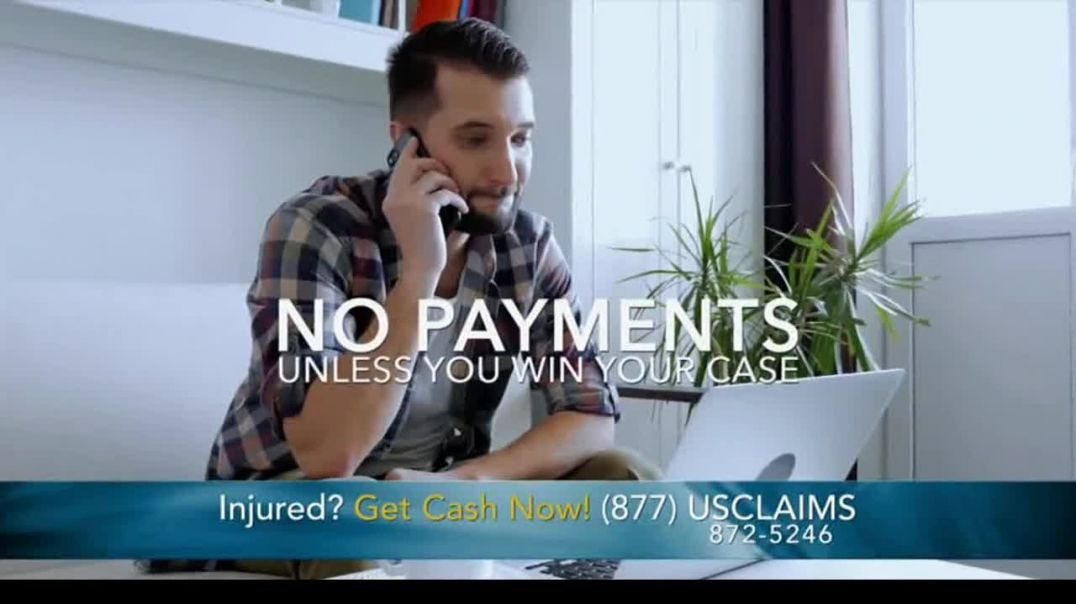 USClaims TV Commercial Ad 2020, Injured in an Accident