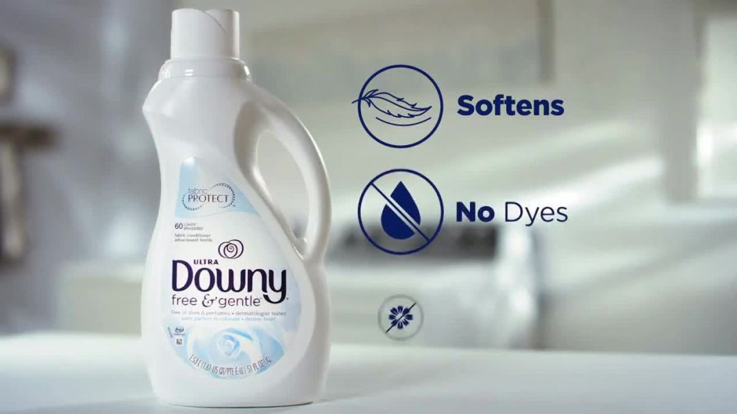 Downy Free & Gentle TV Commercial Ad 2020, Stiff Clothes