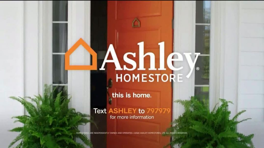 Ashley HomeStore Memorial Day Sale TV Commercial Ad 2020, Final Days- Zero Interest for Five Years