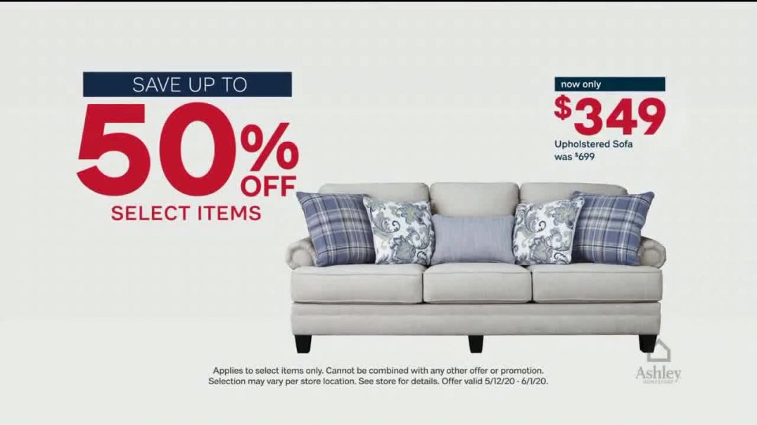 Ashley HomeStore Memorial Day Sale TV Commercial Ad 2020, Final Days- Up to 50 Percent Off
