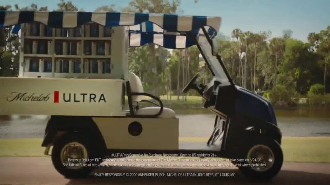 Michelob ULTRA TV Commercial Ad 2020, 2020 Beer Cart Song by Sugar Billy Garner