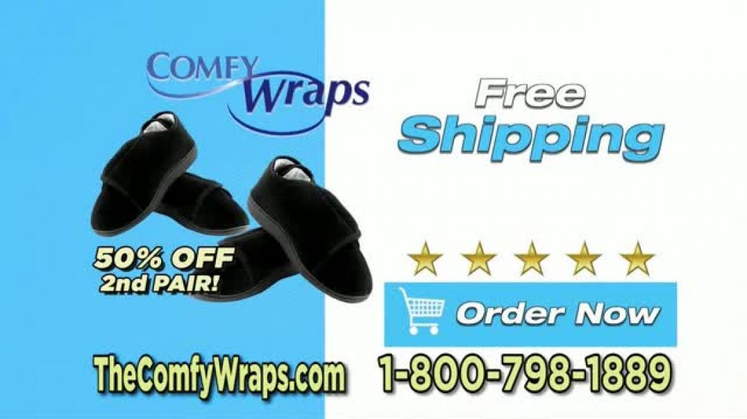 Comfy Wraps TV Commercial Ad 2020, Pay Attention  BOGO 50 Percent Off