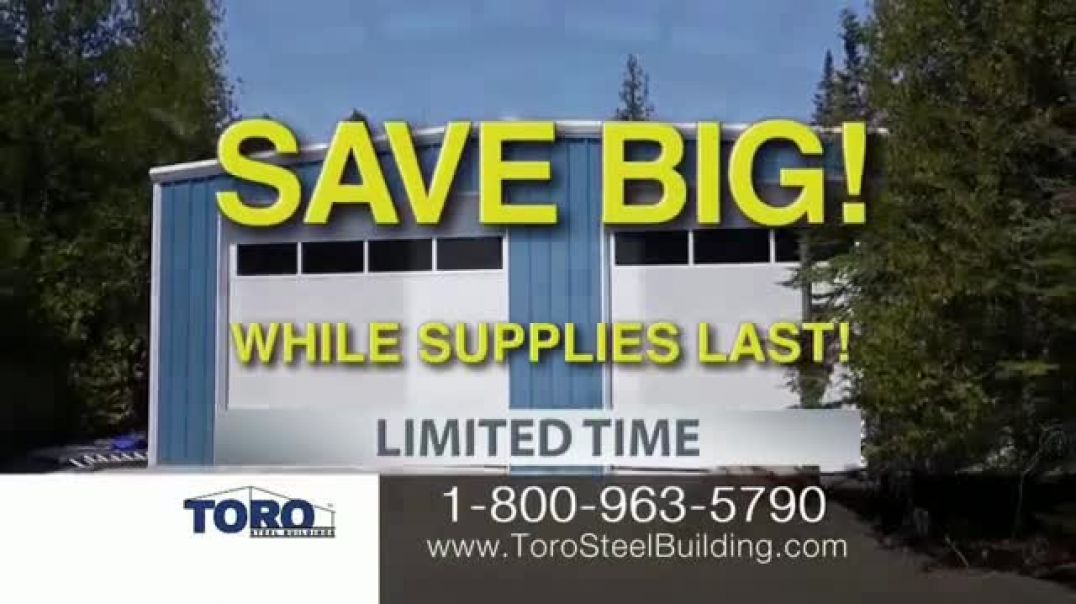 Toro Steel Building Inventory Sell Off TV Commercial Ad 2020, Perfect