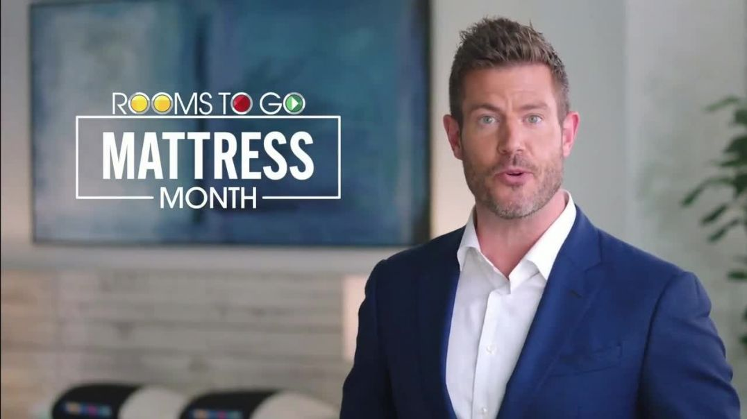 Rooms to Go Mattress Month TV Commercial Ad 2020, Comfort is a Personal Thing Featuring Jesse Palmer