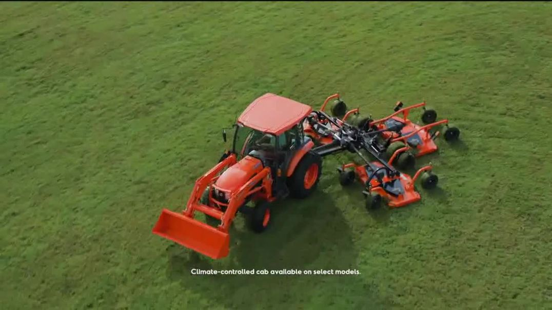 Kubota Compact Tractors TV Commmercial Ad 2020, Tackle Any Job All Year Round