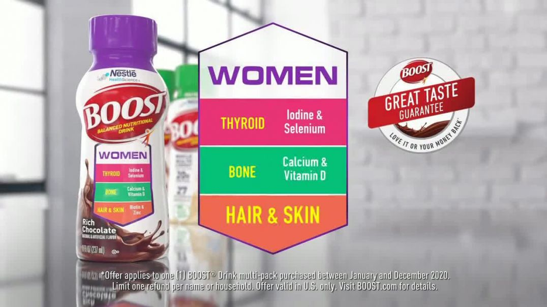Boost Women TV Commercial Ad 2020, Count On