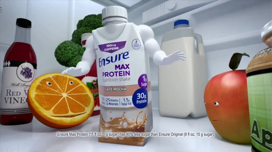 Ensure Max Protein TV Commercial Ad 2020, More Protein, Less Sugar- Immune Health