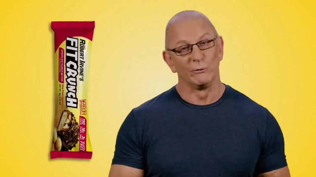 FITCRUNCH TV Commercial Ad 2020, Raising the Bar on Flavor Featuring Robert Irvine