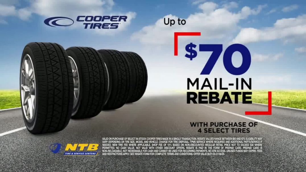 National Tire & Battery TV Commercial Ad 2020, Gearing Up- $70 Mail-In Rebate on Cooper