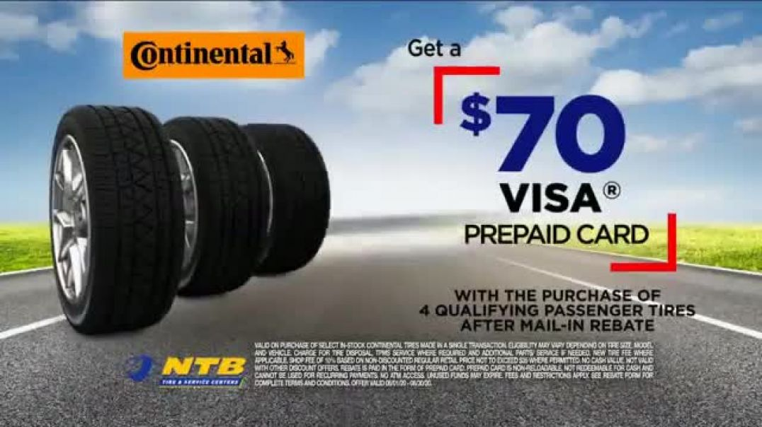 National Tire & Battery TV Commercial Ad 2020, Gearing Up  Continental Tires