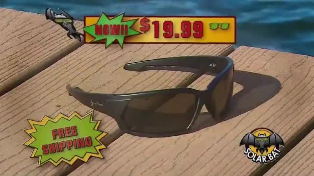 Solar Bat Jimmy Houston Sunglasses TV Commercial Ad 2020, Deal for You