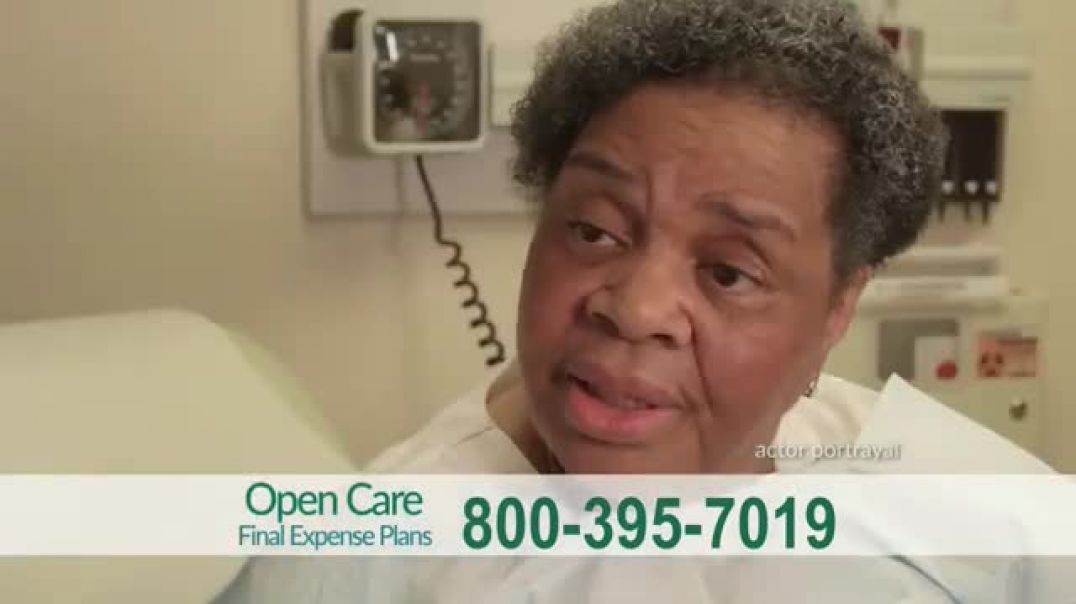 Open Care Insurance Services Final Expense Plan TV Commercial Ad 2020, At Peace  Prescription Discou