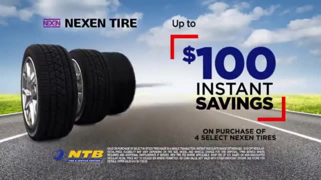 National Tire & Battery TV Commercial Ad 2020, Nexen  Instant Savings, No Interest and M