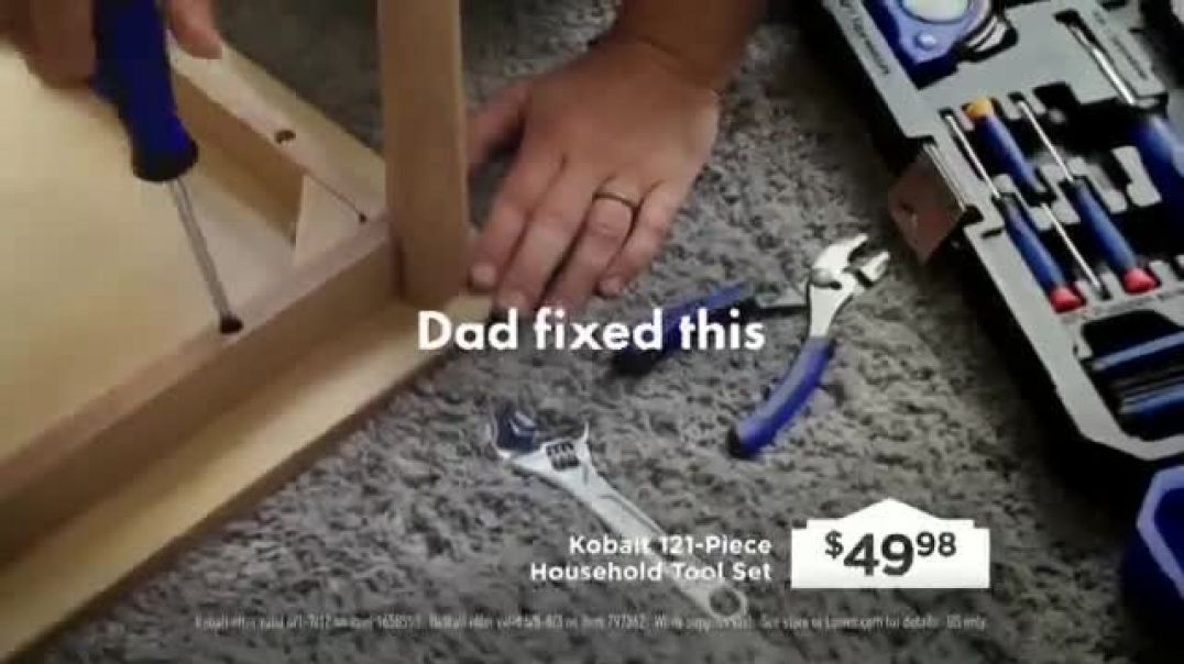 Lowes TV Commercial Ad 2020, Fathers Day  Build Dads Imagination