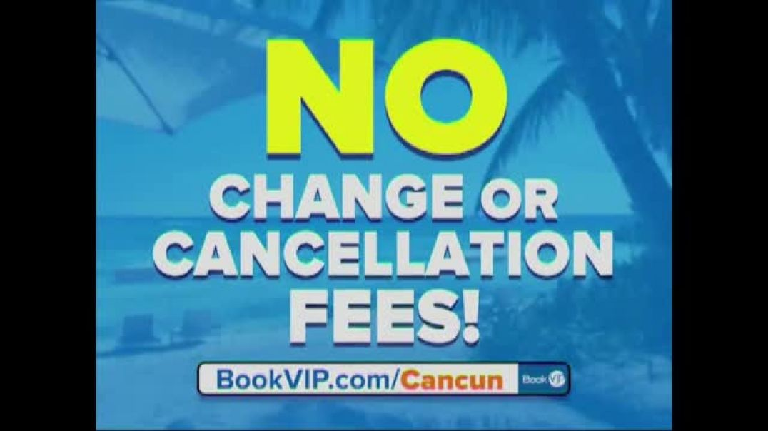 BookVIP TV Commercial Ad 2020, All Inclusive Cancun Package