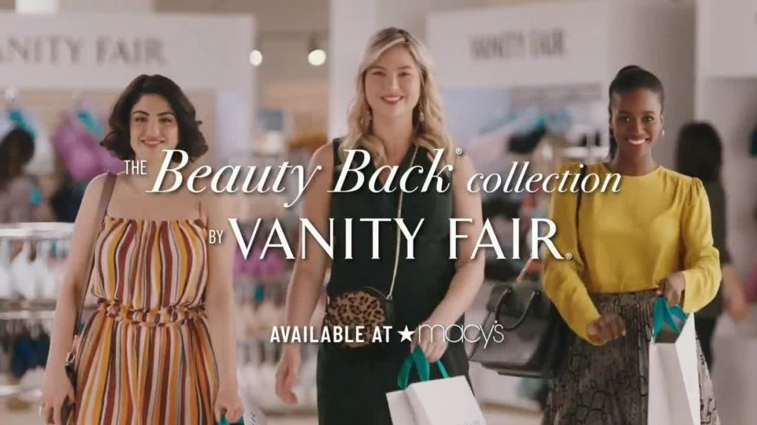 Vanity Fair Beauty Back Collection TV Commercial Ad 2020, Your Smooth Awaits