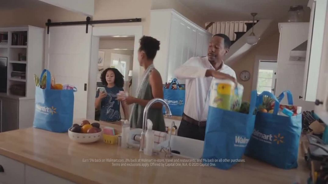 Capital One Walmart Rewards Card TV Commercial Ad 2020, Science Fair